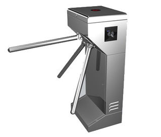 Chiny Time Attendance / Tolling 0.2S Stainless Steel ID Card Tripod Turnstile Gate for Musem fabryka
