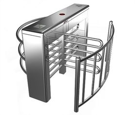 Chiny Stainless Steel Biometric Full Height Turnstile With LED Display For Apartment fabryka