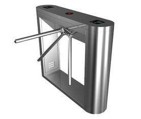 Chiny Magnetic Card Stainless Steel Tripod Turnstile Gate for Supermarket fabryka
