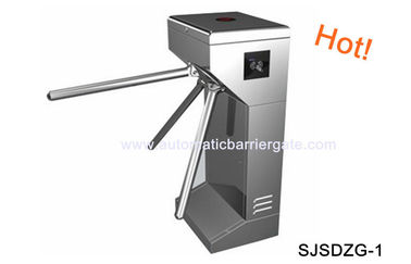 Chiny Digital Double Direction Stainless Steel ID Card Tripod Turnstile Gate for Supermarket fabryka