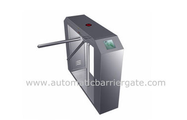 Chiny High Class Stainless Steel ID Card Tripod Turnstile Gate with Single Direction fabryka