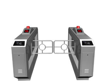 Chiny Magnetic Card One-way Direction Self-checking Automatic Swing Gate Barrier RS485 AC220V fabryka