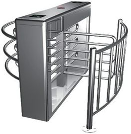 Chiny 0.2s RS485 Stainless Steel Tube Automatic Rotation Full Height Turnstile For Subway fabryka