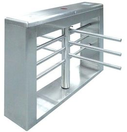 Chiny One-way Direction Automatic Rotation Full Height Turnstile with LED Display for Museum fabryka