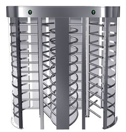 Chiny Indoor One-way Direction Full Height Turnstile with Stainless Steel Tube for Bus Station fabryka