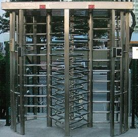 Chiny 30 Persons / Min Stainless Full Height Turnstile with Sound and Light Alarm for Museum fabryka