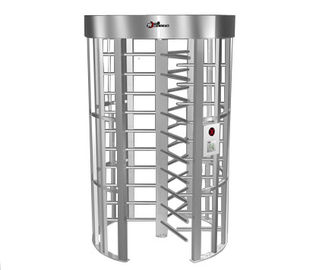 Chiny 0.2S Electric Security Stainless Steel Full Height Turnstile with Light Alarm RS485 fabryka