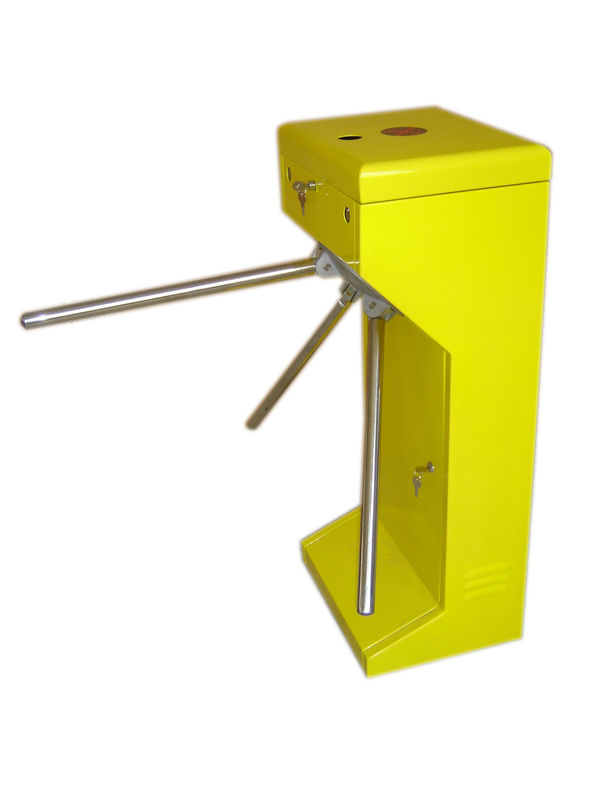 Vertical Stainless Steel Tripod Turnstile Gate For Park or Airport dostawca