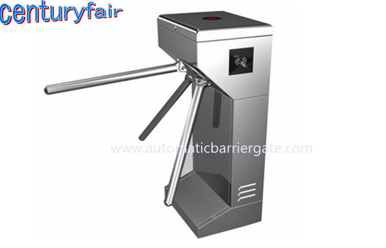 ID Card LED Double Direction Prompt Vertical Tripod Turnstile Gate for Supermarket dostawca