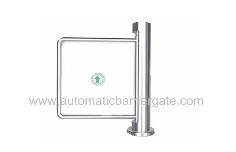Auto Reset 90 Angle Single Directional Stainless Manual Swing Gate Barrier for Exhibition dostawca