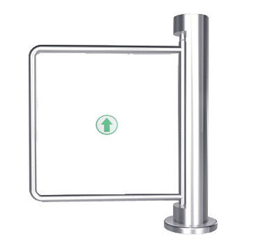 90 Angle Auto Reset 300 - 800mm Arm One - way Stainless Manual Swing Gate Barrier dostawca